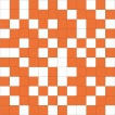 Shine Mosaico White-Orange